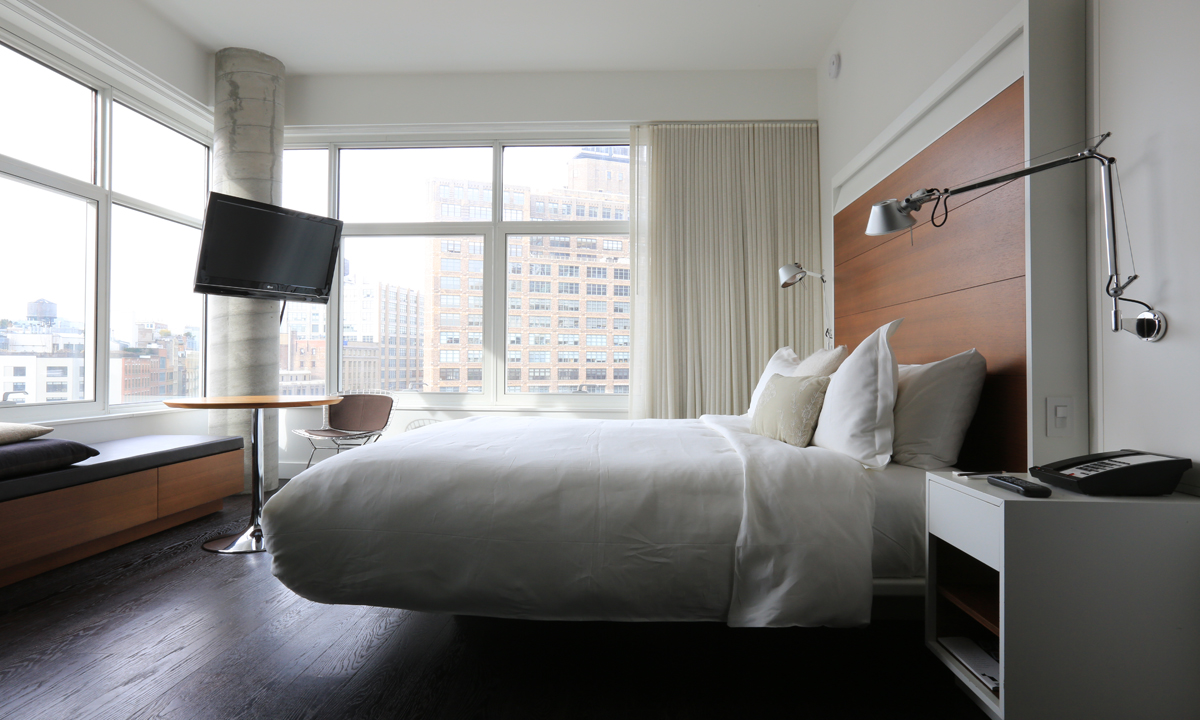 The james new york new york city hip hotels for Hippest hotels in nyc