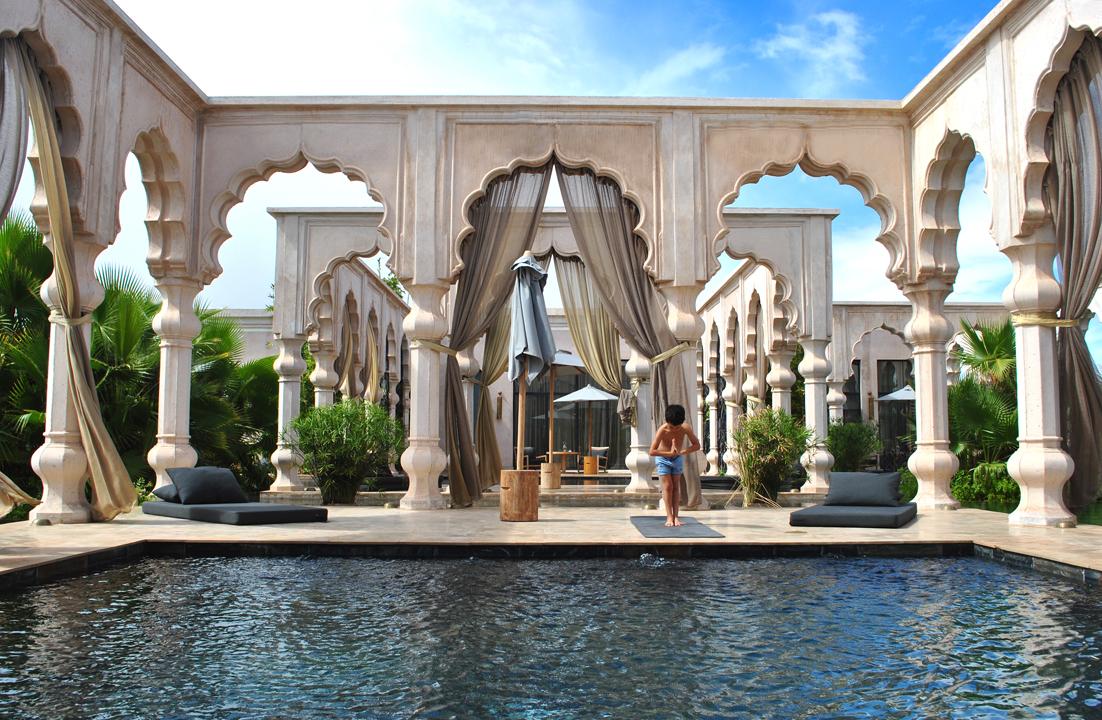 Palais namaskar marrakech hip hotels for Hippest hotels