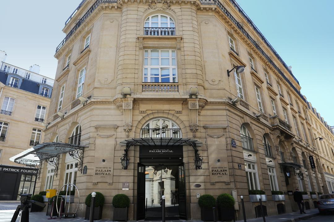 Grand hotel du palais royal paris hip hotels - Grand hotel palais royal ...